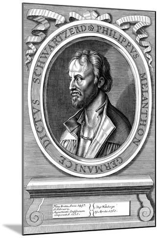 Philip Melanchthon the German Protestant Reformer, C18th Century-Hans Holbein the Younger-Mounted Giclee Print