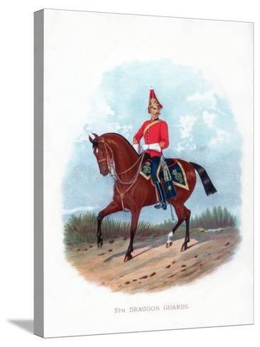 5th Dragoon Guards, 1888--Stretched Canvas Print