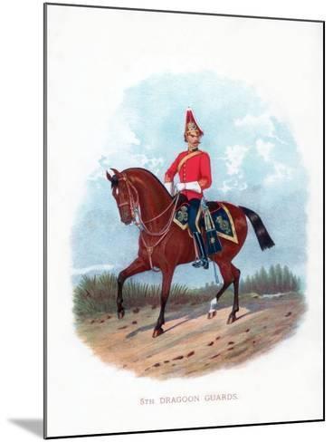 5th Dragoon Guards, 1888--Mounted Giclee Print