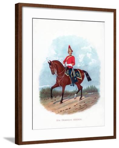 5th Dragoon Guards, 1888--Framed Art Print