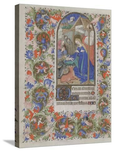 Nativity (Book of Hour), 1440-1460--Stretched Canvas Print