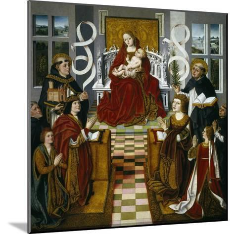 The Madonna of the Catholic Monarchs, 1491-1493--Mounted Giclee Print