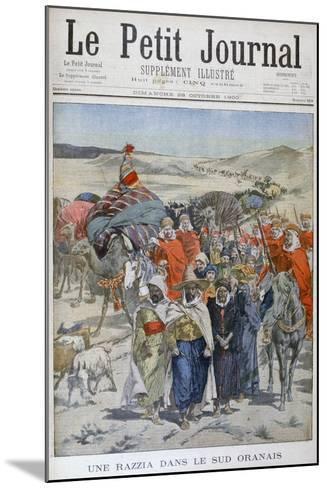 A Round Up in Southen Oranais, Algeria, 1900--Mounted Giclee Print