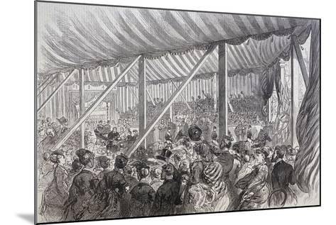 Queen Victoria Opening Blackfriars Bridge, London, 1869--Mounted Giclee Print