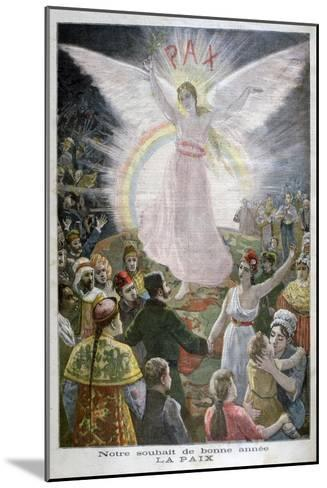 Our Hope for the New Year: Peace, 1894--Mounted Giclee Print