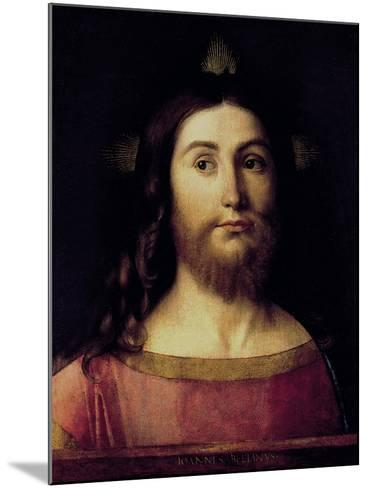 Saviour of the World-Giovanni Bellini-Mounted Giclee Print