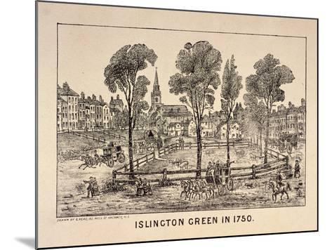 Islington Green, London, 1750-C Read-Mounted Giclee Print