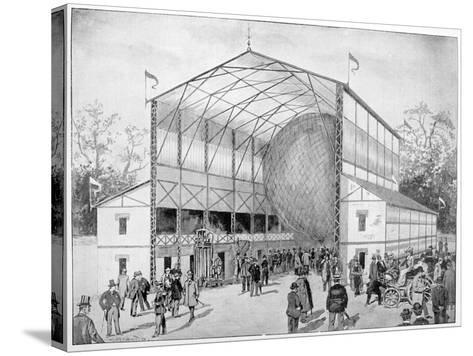 One of Great Attractions of Vincennes, Paris, 1900--Stretched Canvas Print