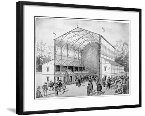 One of Great Attractions of Vincennes, Paris, 1900--Framed Art Print