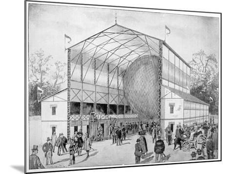 One of Great Attractions of Vincennes, Paris, 1900--Mounted Giclee Print