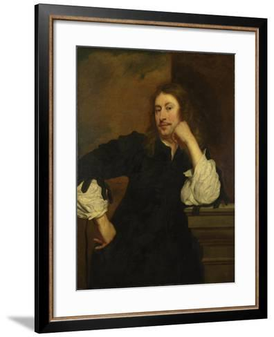 Portrait of Lucas Fayd'Herbe , C. 1640-Pieter Franchoijs-Framed Art Print