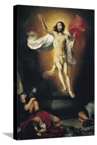 The Resurrection-Bartolom? Esteb?n Murillo-Stretched Canvas Print