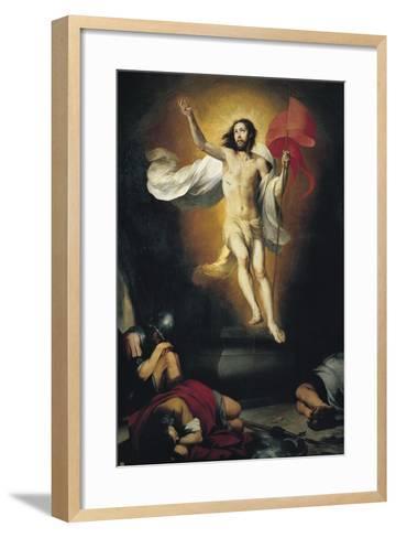 The Resurrection-Bartolom? Esteb?n Murillo-Framed Art Print