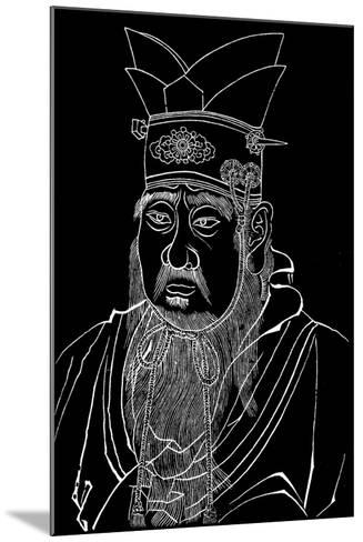 Confucius (551-479 B), Chinese Philosopher--Mounted Giclee Print