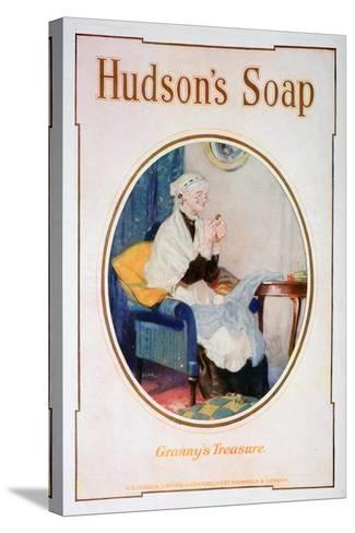 Granny's Treasure, Hudson's Soap Advert, 1918--Stretched Canvas Print