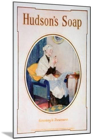 Granny's Treasure, Hudson's Soap Advert, 1918--Mounted Giclee Print
