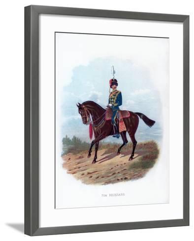 7th Hussars, 1889--Framed Art Print