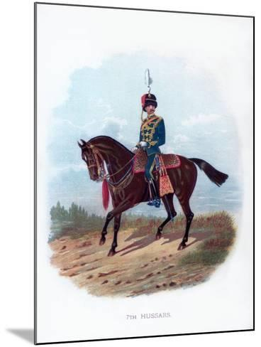 7th Hussars, 1889--Mounted Giclee Print