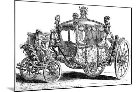 Royal Gold State Coach, 19th Century--Mounted Giclee Print
