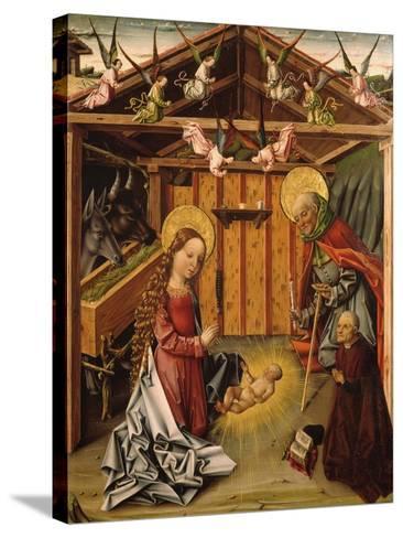 The Nativity (Triptyc), 1467-1500-García del Barco-Stretched Canvas Print