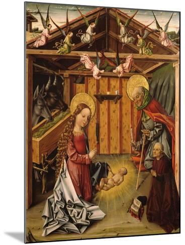 The Nativity (Triptyc), 1467-1500-García del Barco-Mounted Giclee Print