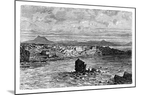 Biarritz, France--Mounted Giclee Print