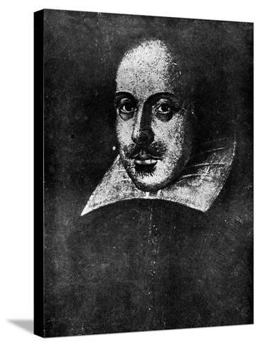 William Shakespeare, English Playwright, 19th Century--Stretched Canvas Print