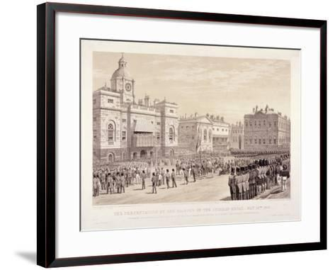 Presentation of the Crimean Medal by Queen Victoria to Colonel Sir Thomas Trowbridge, May 18th 1855-Day & Son-Framed Art Print