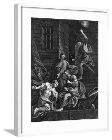 Conversion of the Gaoler, 1815--Framed Art Print