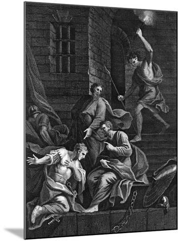 Conversion of the Gaoler, 1815--Mounted Giclee Print