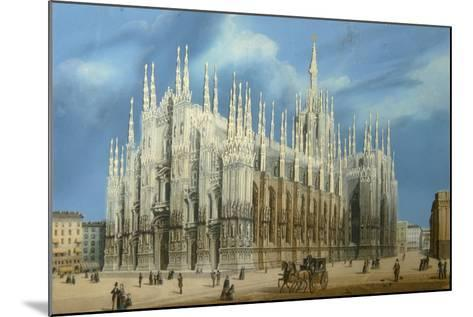 The Milan Cathedral, 1860S--Mounted Giclee Print