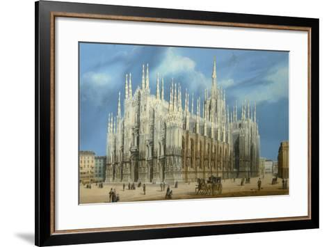 The Milan Cathedral, 1860S--Framed Art Print
