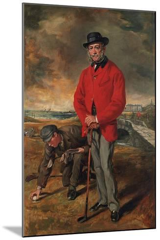 Portrait of John Whyte-Melville, of Bennochy and Strathkinness (1797-188)-Francis Grant-Mounted Giclee Print