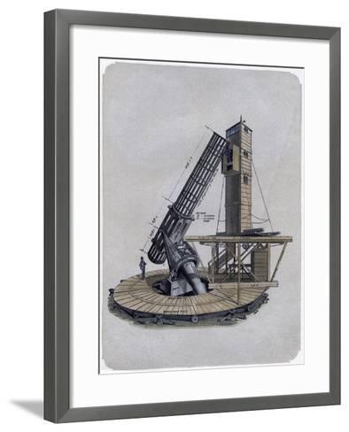 A Newtonian Reflector, 1870--Framed Art Print