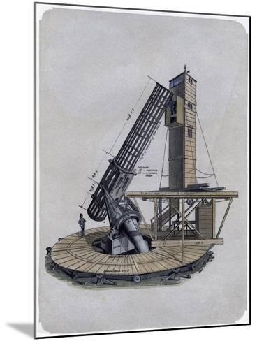 A Newtonian Reflector, 1870--Mounted Giclee Print
