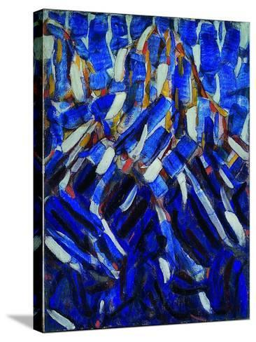 Abstraction (The Blue Mountai), 1912-Christian Rohlfs-Stretched Canvas Print