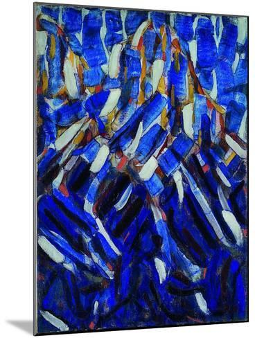 Abstraction (The Blue Mountai), 1912-Christian Rohlfs-Mounted Giclee Print