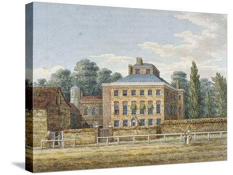Cowley Grove, Hillingdon, Middlesex, C1820--Stretched Canvas Print