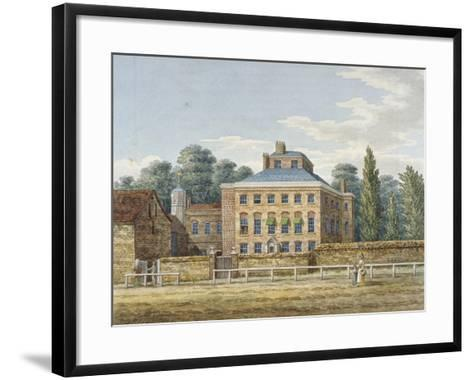 Cowley Grove, Hillingdon, Middlesex, C1820--Framed Art Print