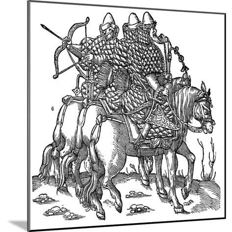 Mounted Muscovite Warriors, 1556--Mounted Giclee Print