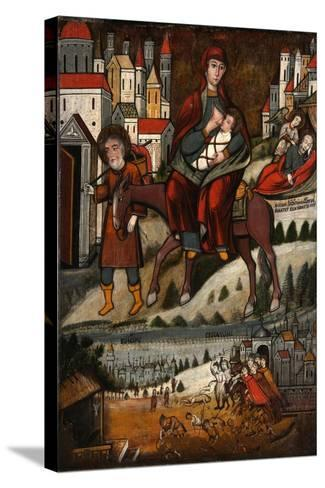 The Flight into Egypt, Early 17th C--Stretched Canvas Print