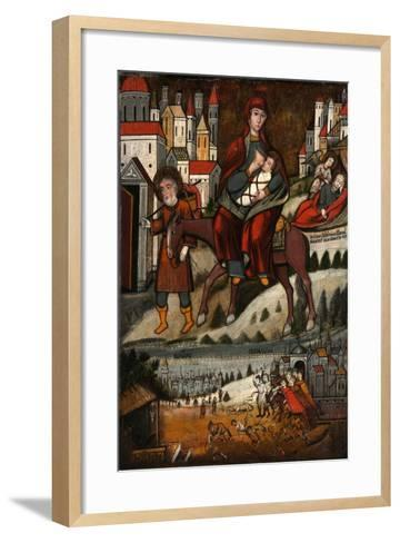 The Flight into Egypt, Early 17th C--Framed Art Print