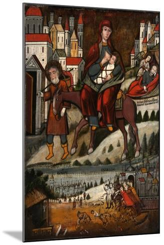 The Flight into Egypt, Early 17th C--Mounted Giclee Print
