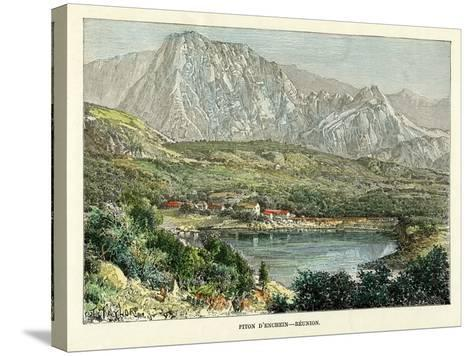 Piton D' Enchein, Reunion, C1880-Taylor-Stretched Canvas Print