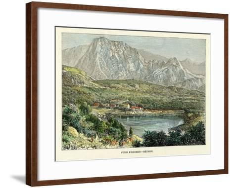 Piton D' Enchein, Reunion, C1880-Taylor-Framed Art Print