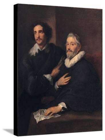 Portrait of the Brothers De Wael, C. 1620-1630-Sir Anthony Van Dyck-Stretched Canvas Print