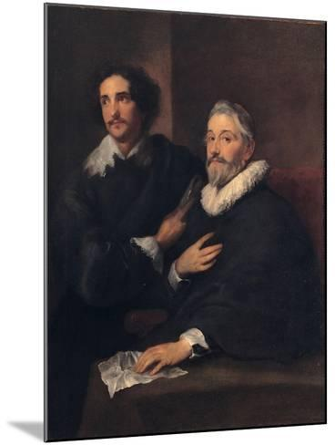 Portrait of the Brothers De Wael, C. 1620-1630-Sir Anthony Van Dyck-Mounted Giclee Print