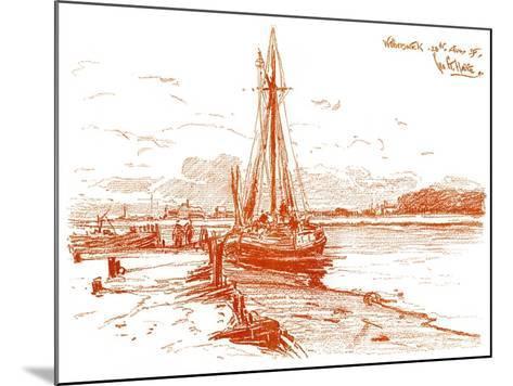 A Sketch at Walberswick, 1899-George Charles Haite-Mounted Giclee Print
