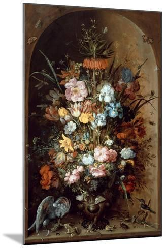Flower Still Life with Crown Imperial, 1624-Roelant Savery-Mounted Giclee Print