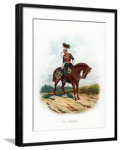 5th Lancers, 1889--Framed Art Print